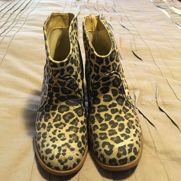 Rampage Shoes   Leopard Booties   Poshmark
